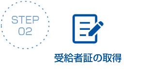 STEP02:受給者証の取得